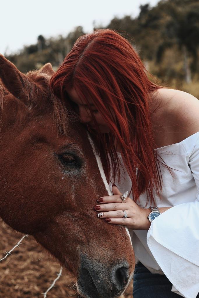 Horse Ranch Puerto Rico Red Hair